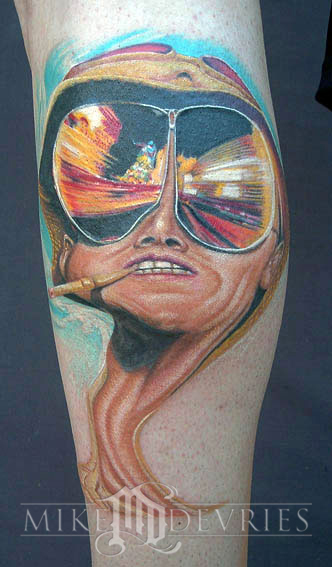 Mike DeVries - Fear and Loathing Tattoo